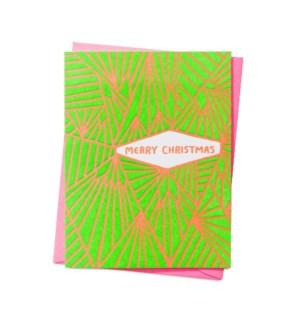 Merry Christmas Geometric