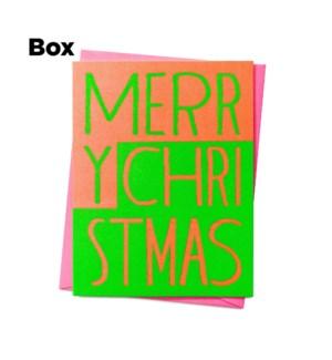 Christmas Blocks-Boxed set of 6
