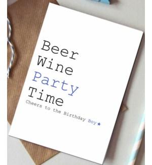 Beer wine party|Always Sparkle