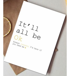 It'll all be ok|Always Sparkle