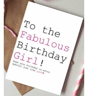Birthday Girl|Always Sparkle
