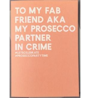 Friend Prosecco partner 4.5x6|Always Sparkle