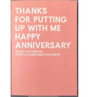 Happy Anniversary 4.5x6|Always Sparkle