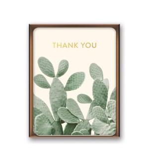 Artisan Note Card Set - A Closer Look Thank You