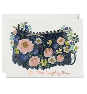 Knitted Blooms boxed