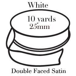 White Satin One Inch|Pohli