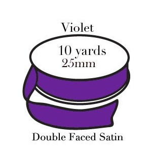 RIBBON-Violet One Inch|Pohli