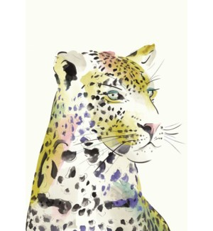 Leopard Watercolour|Art Press