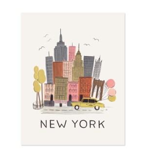 New York City Print (11x14)