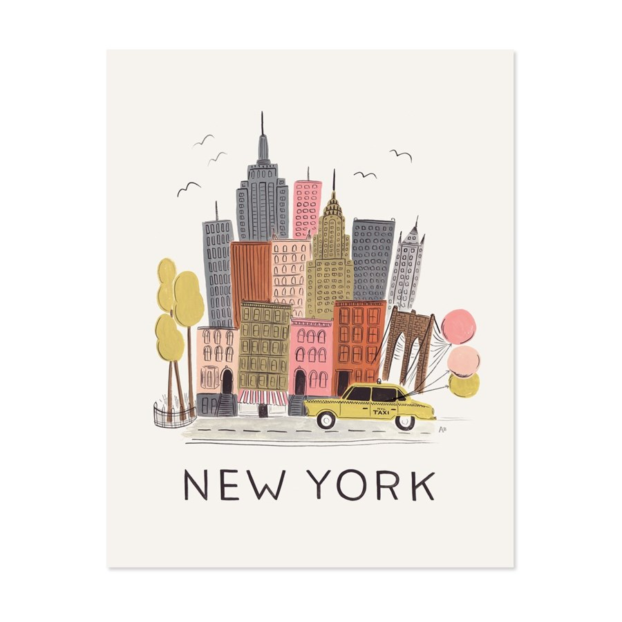 New York City Print (8x10)