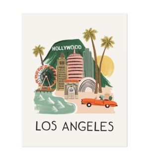 Los Angeles Print (11x14)