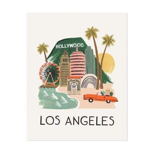 Los Angeles Print (8x10)