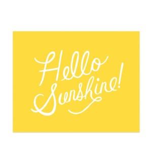 Hello Sunshine Print (8x10)