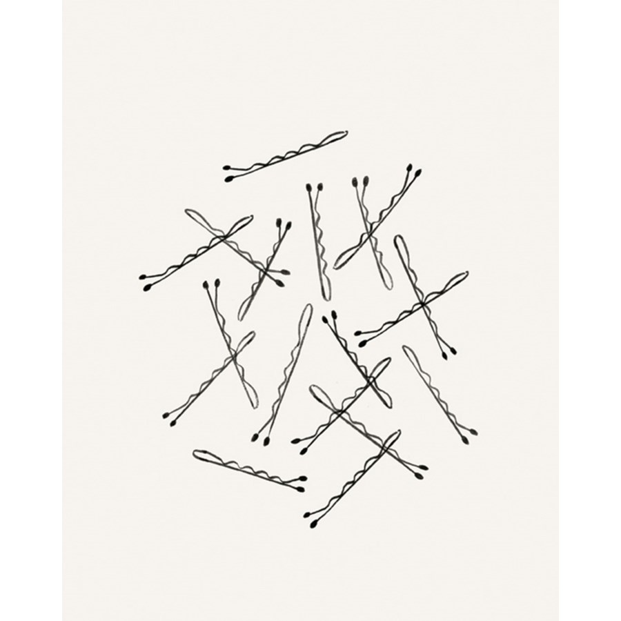 Bobby Pin Print (8x10)