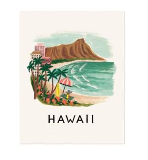Hawaii Print (16x20)