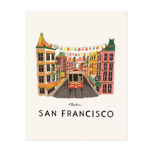 San Francisco Print (11x14)