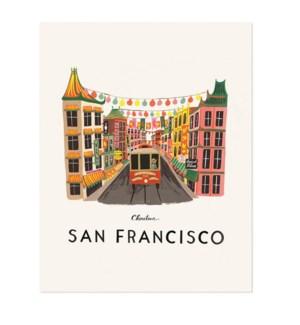 San Francisco Print (16x20)