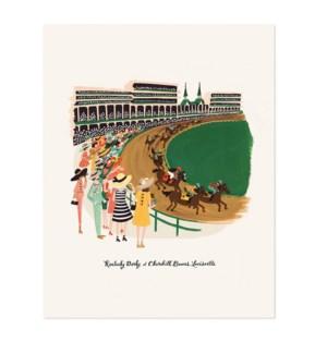 Kentucky Derby Print (8x10)