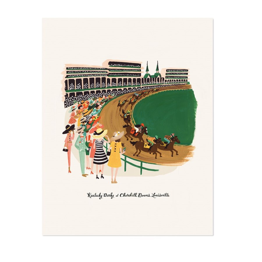 Kentucky Derby Print (8x10)