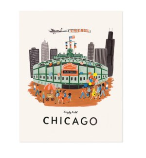 Chicago Print (16x20)