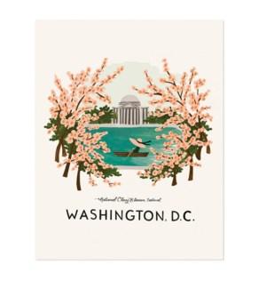 Washington, D.C. Print (16x20)