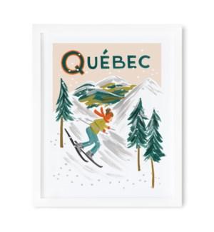 Quebec Bon Voyage Art Print (11x14)