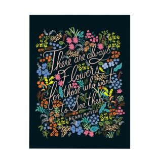 Matisse Quote (8x10)