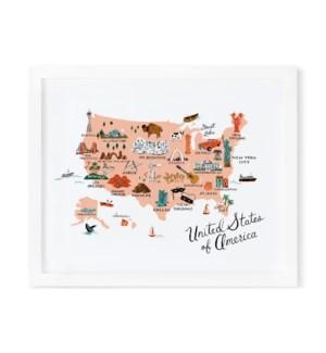 United States of America (8x10)