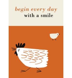 Begin Every Day|Art Press