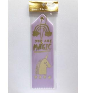 Ribbon Card - You Are Magic Unicorn