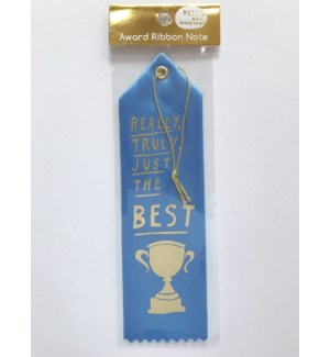 Ribbon Card - Really Truly Just The Best