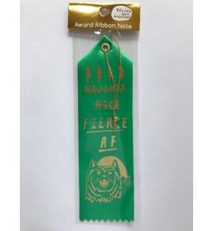 Ribbon Card - Fierce AF Tiger