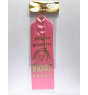 Ribbon Card - Bada Beautiful Bride