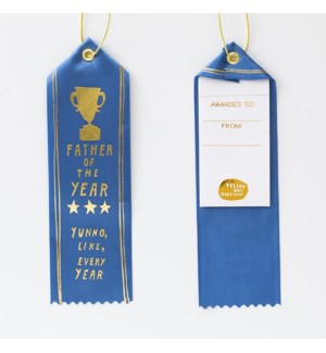 Award Ribbon Note - Father of the Year Every Year