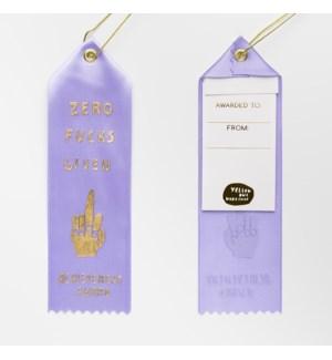 Award Ribbon Note - Zero Effs Given