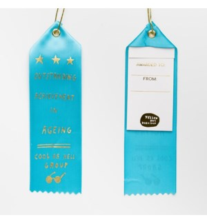 Award Ribbon Note - Outstanding Achievement in Ageing