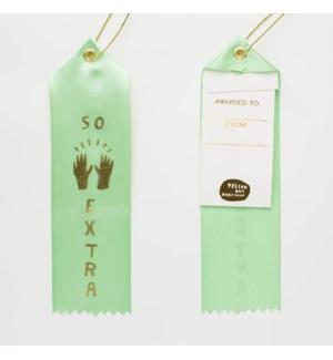 Award Ribbon Note - So Extra