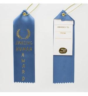 Award Ribbon Note - Amazing Human Award