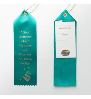 Award Ribbon Note - Apathetic Naps Sloth