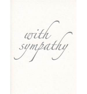 With Sympathy Letterpress|Archivist