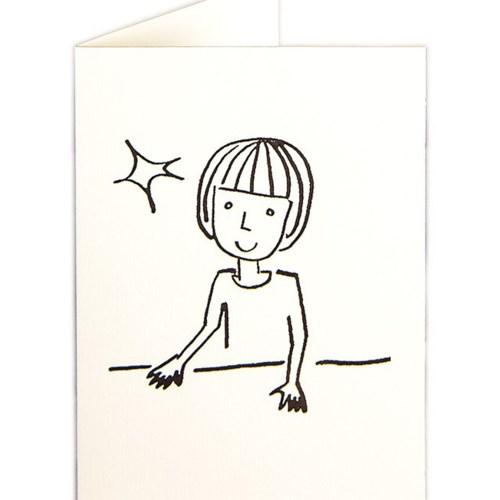 Little girl 3.5x5 Archivist