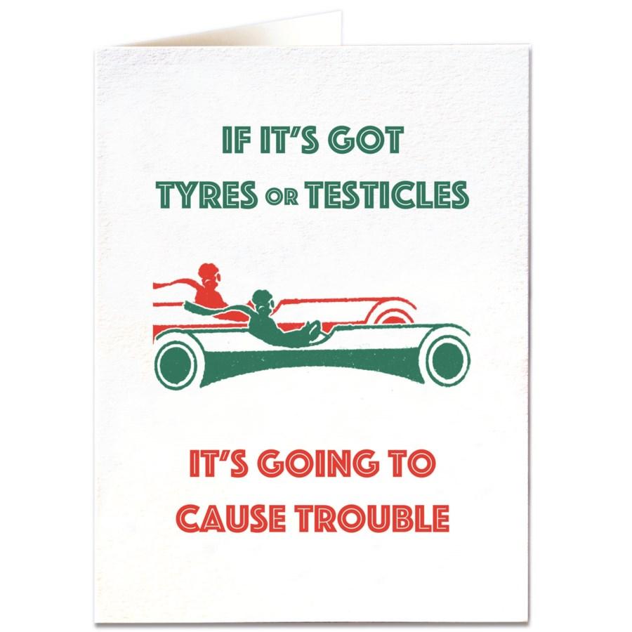Tyres or Testicals|Archivist