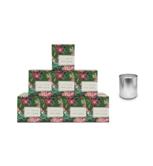 Bamboo & White Floral Boxed Candle Pre-Pack