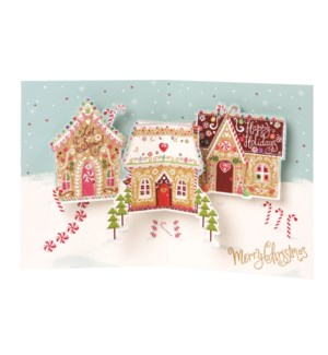 Candy Houses Boxed Cards
