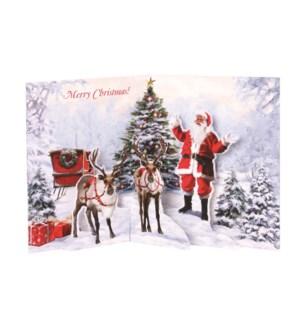 Jolly Santa  Boxed Cards