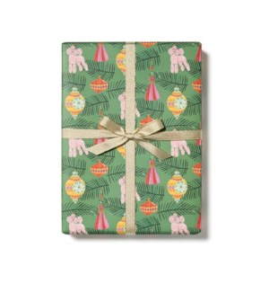 Christmas Poodle roll - 3 sheets