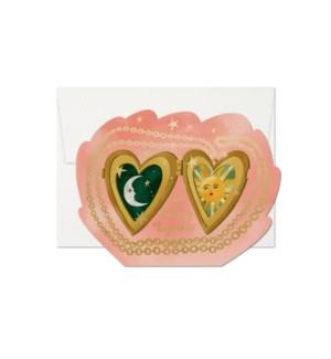 Locket Love Die Cut Foil Love Boxed Set