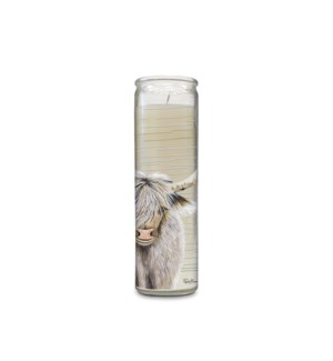 Scented Cathedral Candle - Scottish Bluebells
