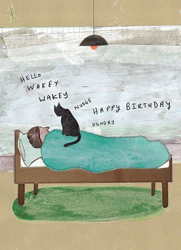 Wakey Wakey 5x7|Calypso