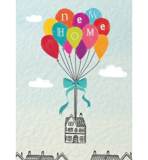 New Home Balloons 5x7|Calypso